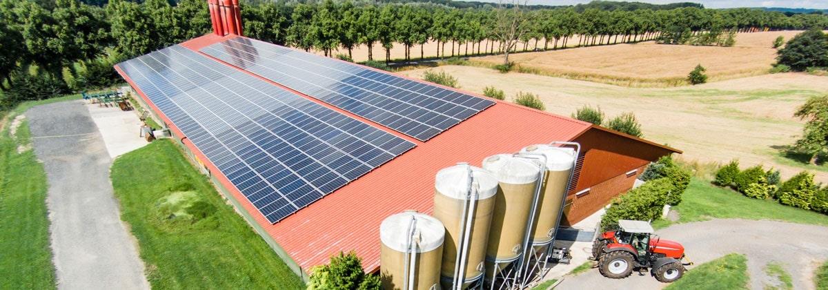 Photovoltaikanlage auf vermieteter Dachfläche