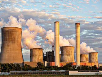 Kohlekraftwerk / Umweltverschmutzung