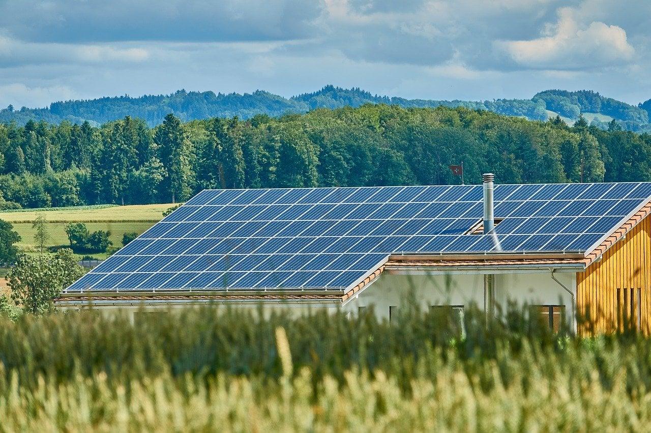 Dach Vermietung für Solar